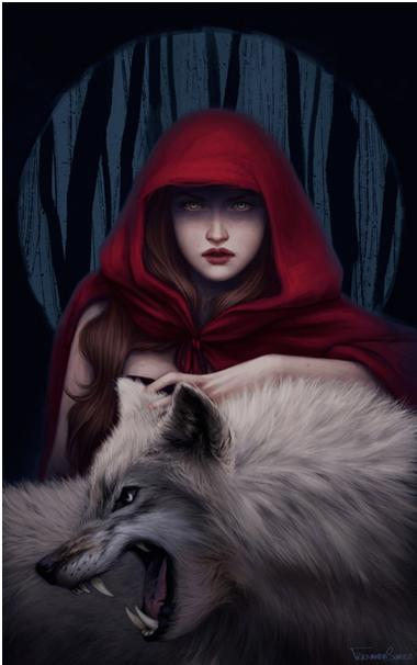 caperucita y el lobo2